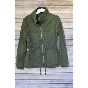Old Navy army green utility jacket